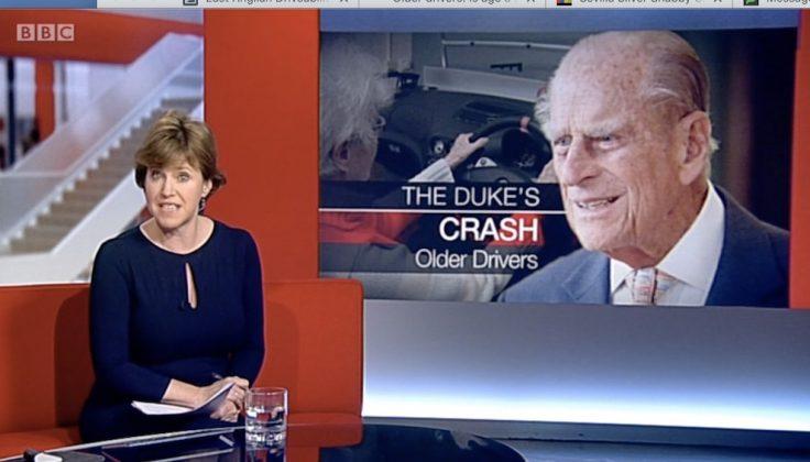 Duke of Edingburgh crash - safer driving for older drivers